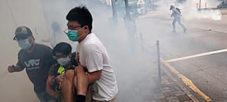 Et overgrep mot Hongkong