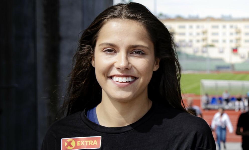 STØTTE: Idrettsutøveren forteller om hvilken rolle kjæresten spiller i karrieren hennes. Foto: Nina Hansen / Dagbladet / NTB