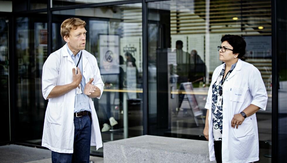 STERKE REAKSJONER: Ahus-kollegene Vegard Bruun Bratholm Wyller og Sadaf Malik har begge erfart konsekvensene av å uttale seg om behandling av ME. Hele deres historie kan du lese i Dagbladet Magasinet.