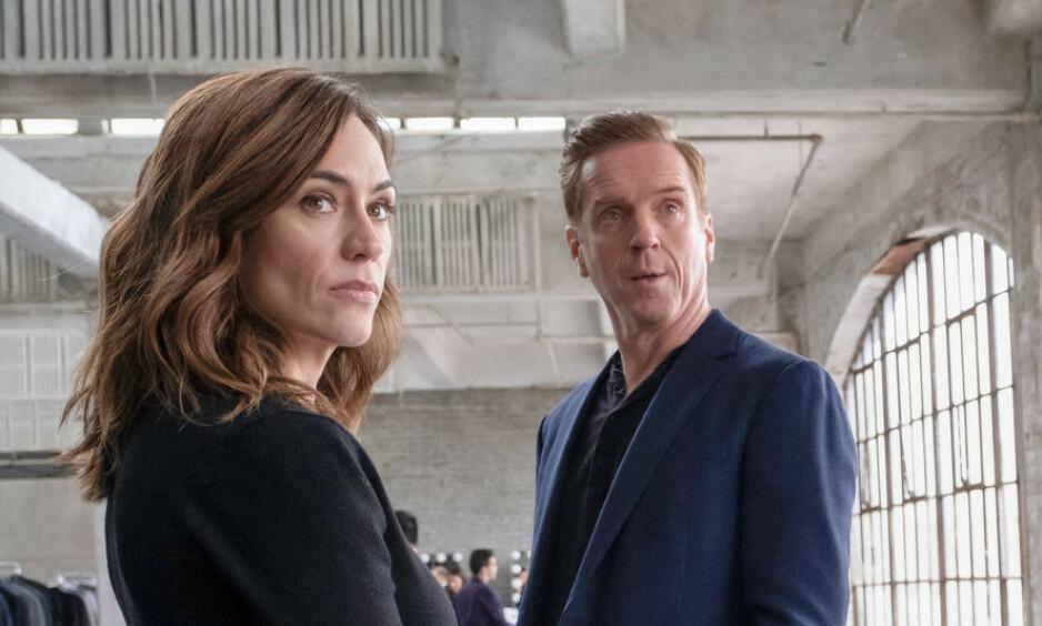 INTRIGER: Tv-serien «Billions» hos HBO er basert på flere ekte hendelser fra finanseliten i New York. Foto: HBO