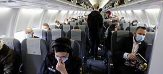 Slik kan viruset smitte på fly