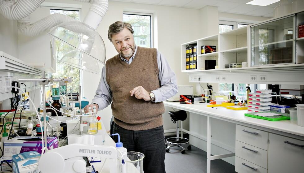 SLÅR ALARM: Medisinsk fagsjef i Legemiddelverket, Steinar Madsen, slår alarm om metodefeil ved forskning knyttet til behandling av Covid-19. Foto: NIna Hansen / Dagbladet