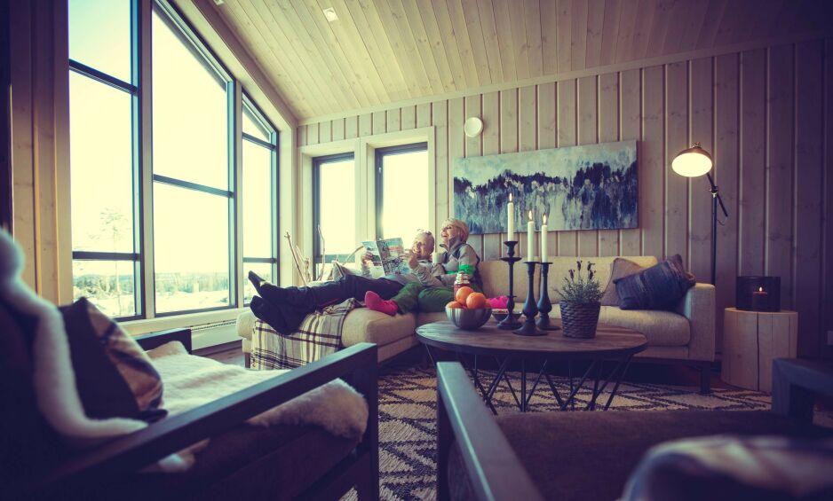 HYTTEKOS: Hytta blir for de fleste nordmenn stedet for de beste opplevelsene.