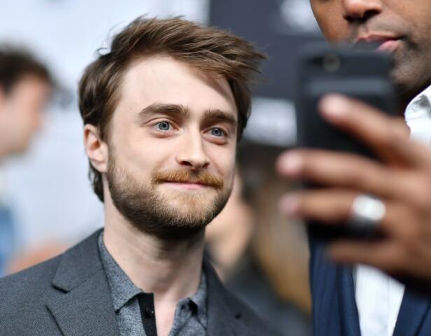 INNLEGG TIL FANSEN: Skuespilleren legger ikke skjul på at han er dypt lei seg for skaden J.K Rowlings kommentarer har forårsaket fansen. Foto: NTB Scanpix
