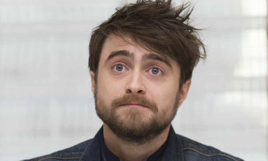 LEI SEG: Skuespiller og «Harry Potter»-stjerna Daniel Radcliffe har nå skrevet et blogginnlegg om den britiske forfatteren J.K Rowlings utsagn om kjønnsidentitet. Foto: NTB Scanpix