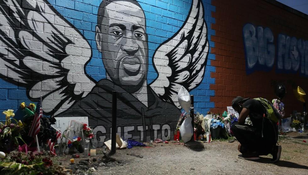 George Floyd: Floyd døde etter å ha blitt arrestert i Minneapolis i mai i år.  Foto: Joe Riddle / Getty Images / AFP