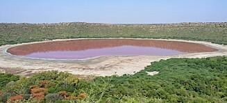 Rosa innsjø forbløffer