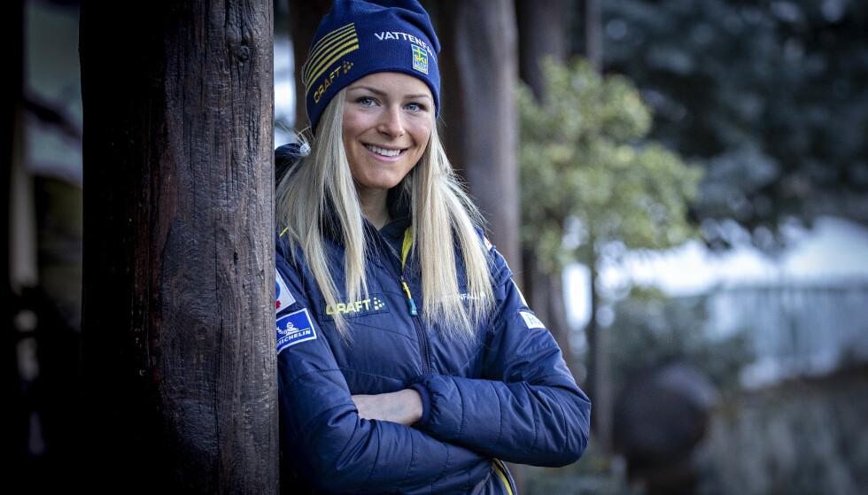 VIL TESTE LØPSTALENTET. Frida Karlsson er inspirert av Therese Johaugs imponernede løperesultater - og tror at hun har det som skal til for å matche det. Foto: Bjrn Langsem / Dagbladet
