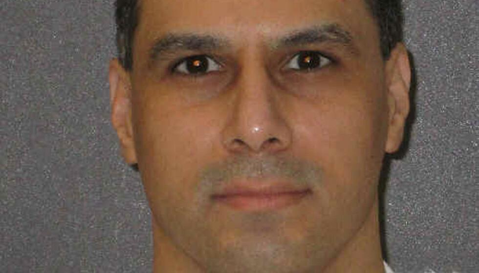DØDSDØMT: Ruben Gutierrez (43) er dømt for drapet på en 85 år gammel kvinne i Texas i 1998. Tirsdag ble den planlagte henrettelsen stanset av høyesterett. Foto: Texas Department of Criminal Justice/Handout via REUTERS