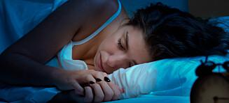 Professor anbefaler ufarlig sovemedisin: - Førstevalget