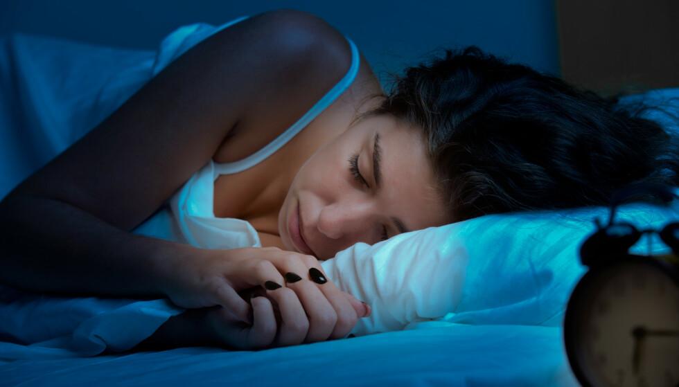 SØVN: Mange sovemedisiner er vanedannende. Heldigvis finnes det et preparat med svært få bivirkninger. - Potent om det brukes riktig, sier professor. Foto: Shutterstock / NTB Scanpix