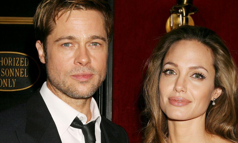 AVSLØRER: Fram til nå har det ikke vært bekreftet hvorfor det ble slutt mellom Brad Pitt og Angelina Jolie. Nå kan imidlertid sistnevnte avsløre grunnen. Foto: NTB Scanpix