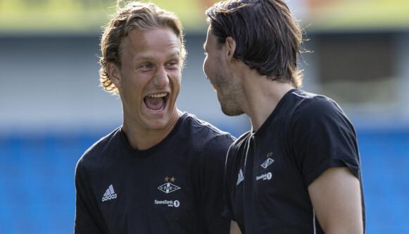 MOROGUTT: Erik Botheim ble kjent for å være frittalende og offensiv i replikken allerede som Rosenborg-spiller. Foto: Svein Ove Ekornesvåg / NTB