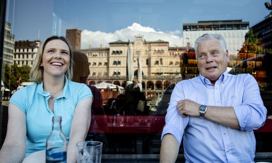 SKRYTER: Pensjonistgeneral Jan Davidsen skryter av Frp-nestleder Sylvi Listhaug som sørget for 400 millioner til en egen eldrepakke. Foto: Nina Hansen / Dagbladet