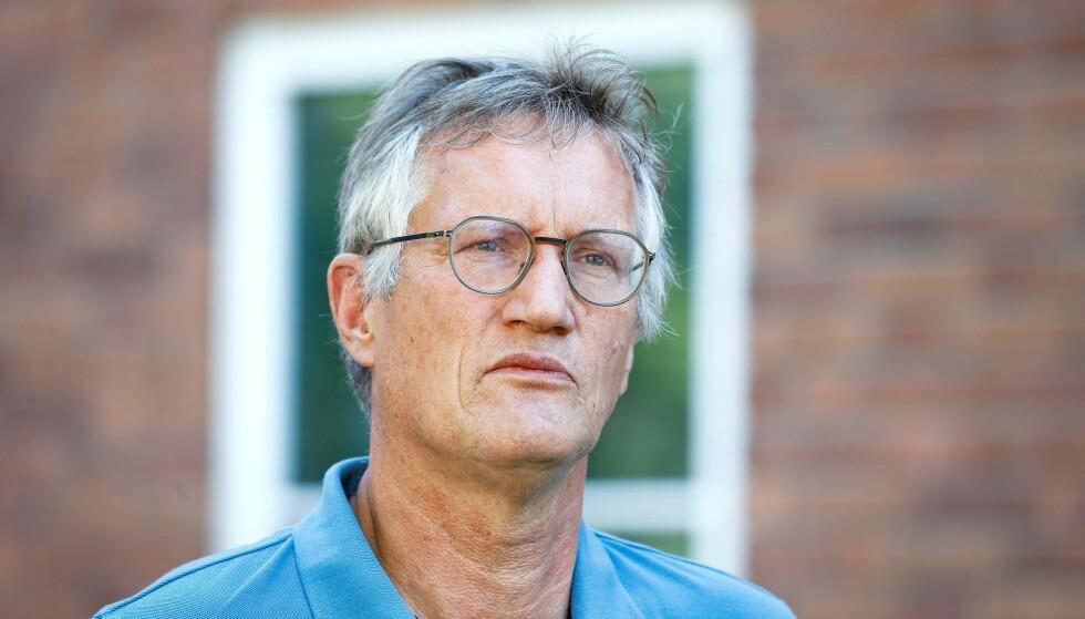 ADVARER: Anders Tegnell advarer mot bruk av vifter for å unngå videre spredning av coronaviruset. Foto: AFP