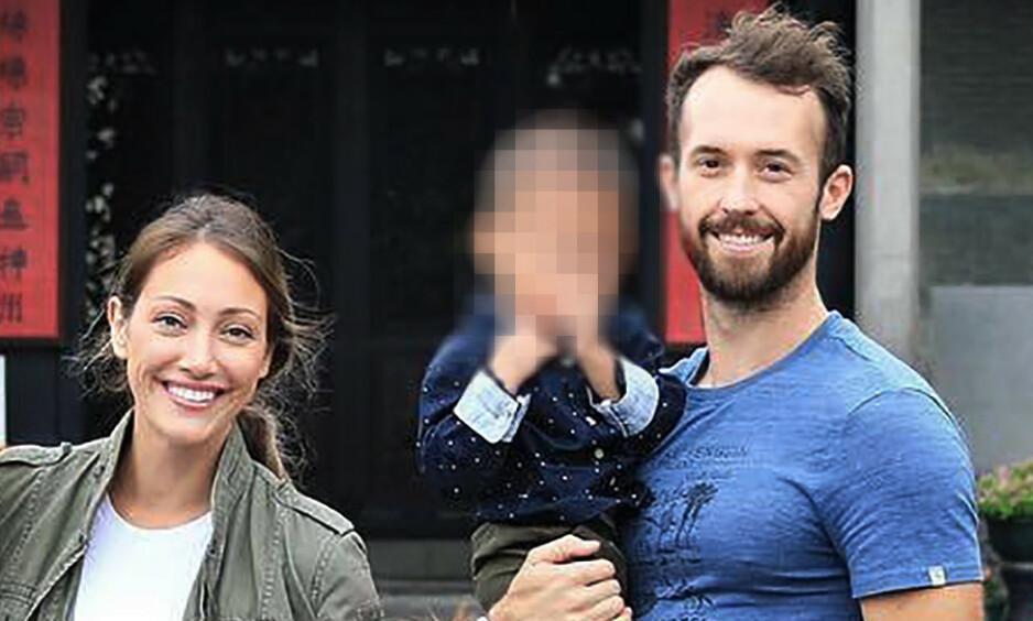 SNAKKER UT: I starten fortalte YouTube-paret Myka og James Stauffer at de hadde gitt bort gutten de en gang i tida adopterte til en annen familie. I etterkant har de mottatt massiv kritikk. Nå bryter førstnevnte tausheten. Foto: Privat