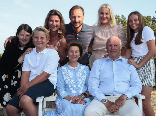 BURSDAGSFEIRING: Da kronprins Haakon fylte 45 år i 2018, fant bursdagsfeiringen sted på Mågerø. Foto: NTB Scanpix