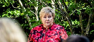 Solberg advarer etter festhelga
