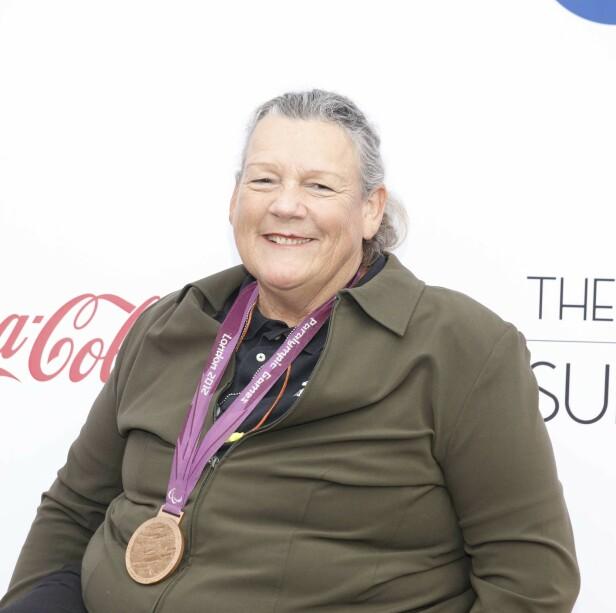 HELT: Madsen var et multitalent, med deltakelse i Paralympics i flere grener. Her under en feiring av amerikanske medaljevinnere i 2019. Foto: NTB scanpix