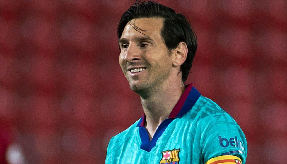 SJOKKRYKTER: Lionel Messi skal visstnok ønske seg bort fra Barcelona neste sommer. Foto: JAIME REINA / AFP / NTB Scanpix