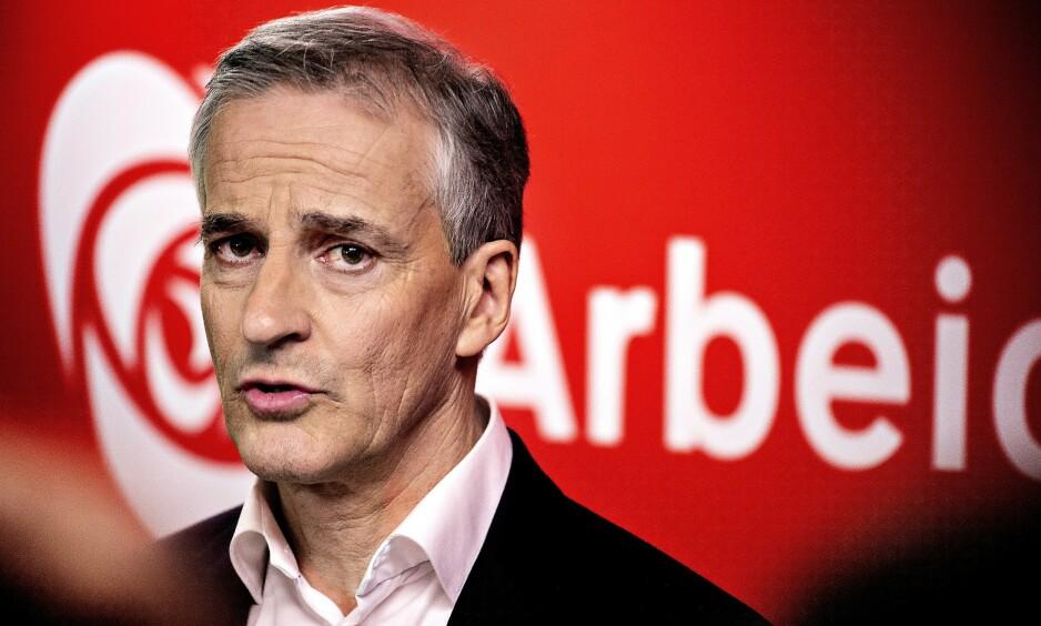 ØNSKER MEDLEMMER MED MINORITETSBAKGRUNN: Arbeiderpartiet og Jonas Gahr Støre. Foto: Hans Arne Vedlog