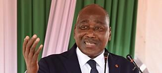 Statsministeren i Elfenbenskysten døde