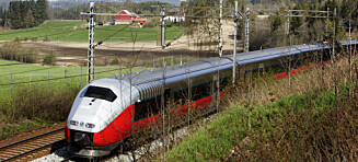 Europa-toget går nå