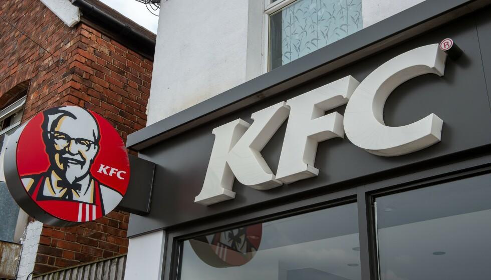 KFC: Melbourne er nå i lockdown, og folk er beordret til å holde seg hjemme. En tur til hurtigmat-restauranten Kentucky Fried Chicken (KFC) avslørte en bursdagsfest. Det ble fort en dyr affære. Foto: Maureen McLean/Shutterstock