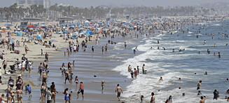 Los Angeles trues med «den store røde knappen»