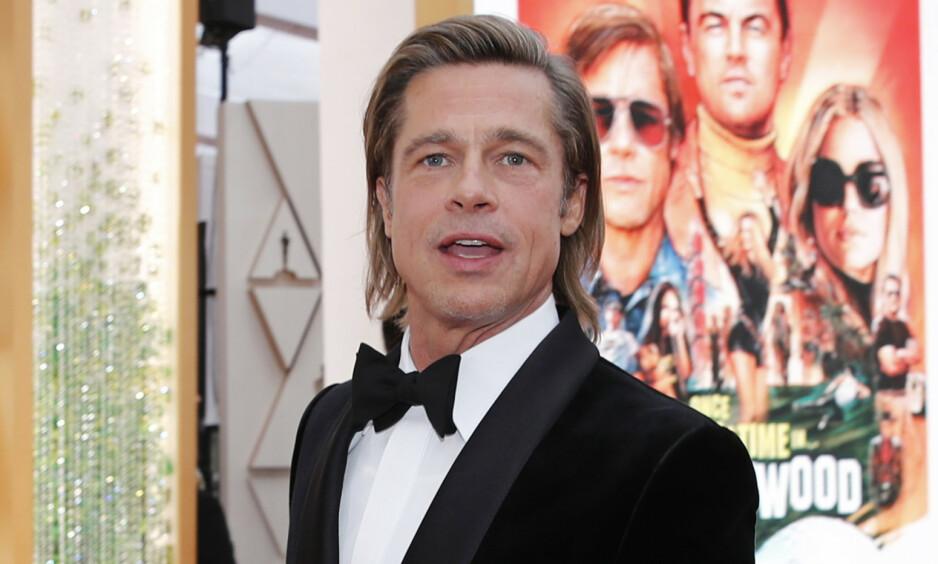 VISSTE DU DETTE?: Flere av verdens største stjerner fant opp sine egne scenenavn før de slo gjennom. Blant dem finner vi Hollywood-stjerna Brad Pitt. Foto: NTB Scanpix