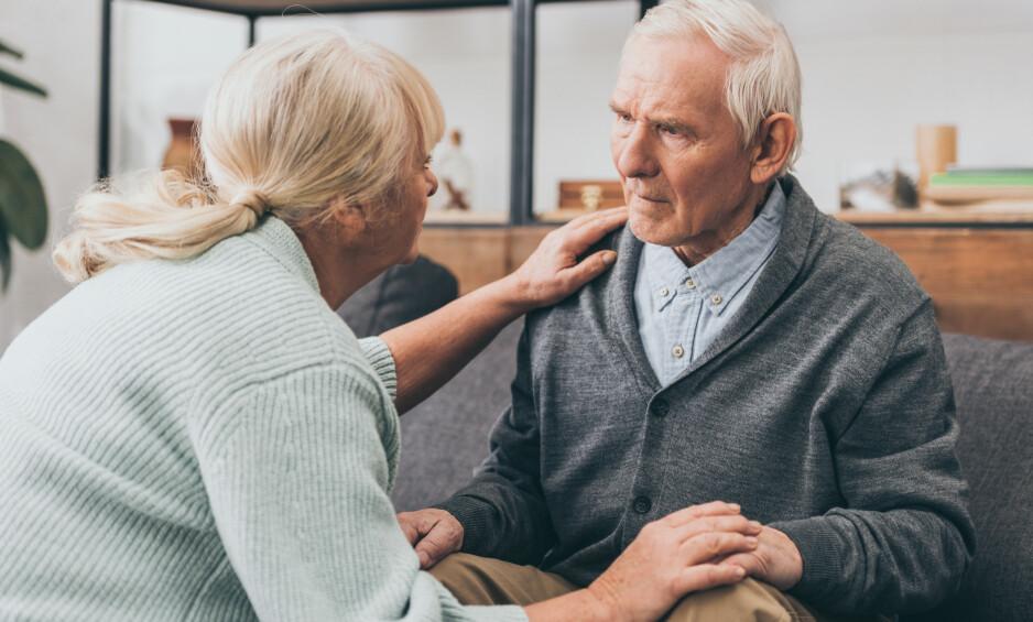 FORSKES MYE PÅ: Alzheimers-sykdom rammer 60 prosent av personer med aldersdemens, og det er høyt prioritert blant forskere å finne en behandling. Foto: NTB Scanpix