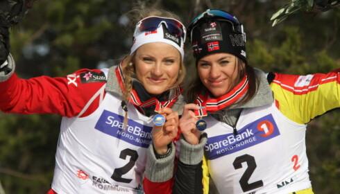 SNYTT: Både Martine Ek Hagen og Heidi Weng har mistet toppresultater og premiepenger på grunn av Julia Tsjekaleva. Foto: NTB Scanpix