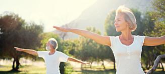 Studie: Fem vaner som gir ti ekstra leveår