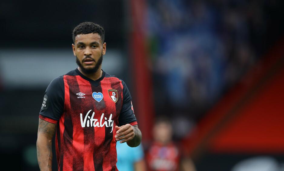 KAN DRA: Joshua King har ett år igjen av kontrakten med Bournemouth. Det kan føre til exit. Foto: David Klein / Sportimage via PA Images / NTB Scanpix