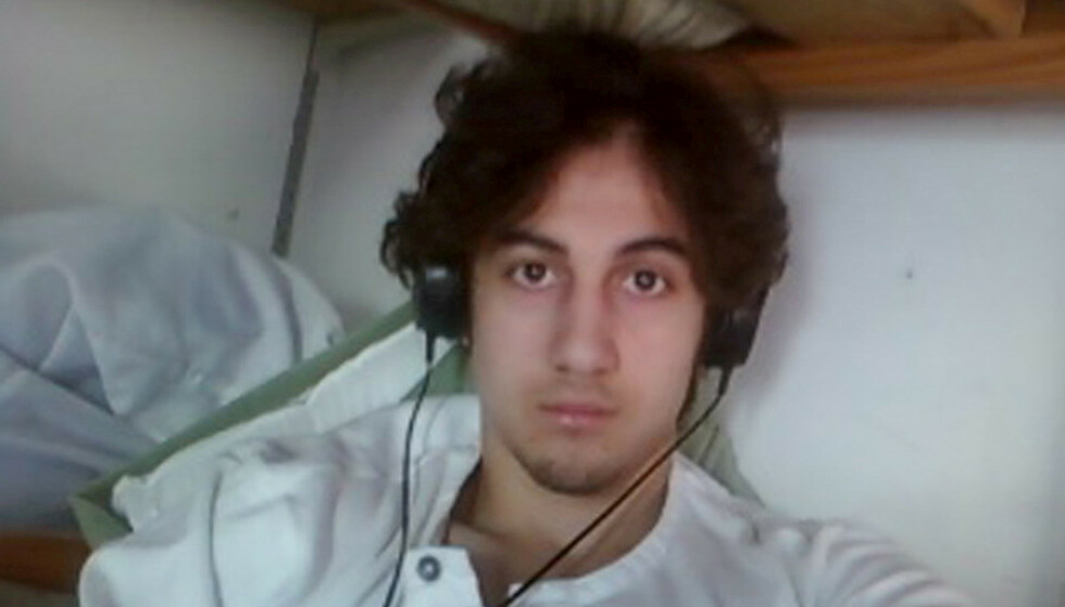 DØDSDØMT: Dzjokhar Tsarnajev ble dømt til døden for bombene under Boston Marathon i 2013. Nå har en domstol opphevet dødsdommen. Foto: U.S. Attorney's Office in Boston/Handout via Reuters/Files/File Photo