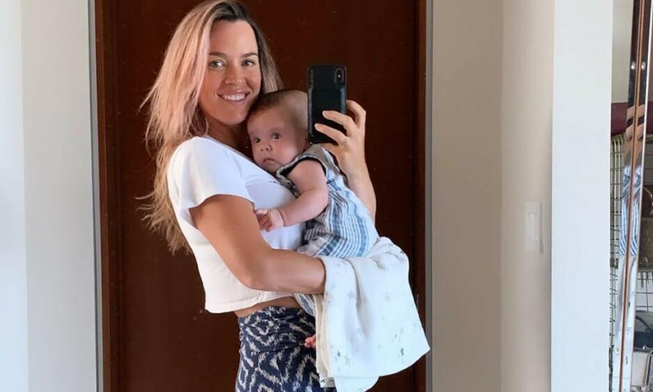 VELLYKKET: «The Real Housewives of Beverly Hills»-stjernen Teddi Mellencamp forteller at hennes nyopererte datter gradvis kommer seg, etter operasjonen i forrige uke. Foto: Teddi Mellencamp / Instagtam