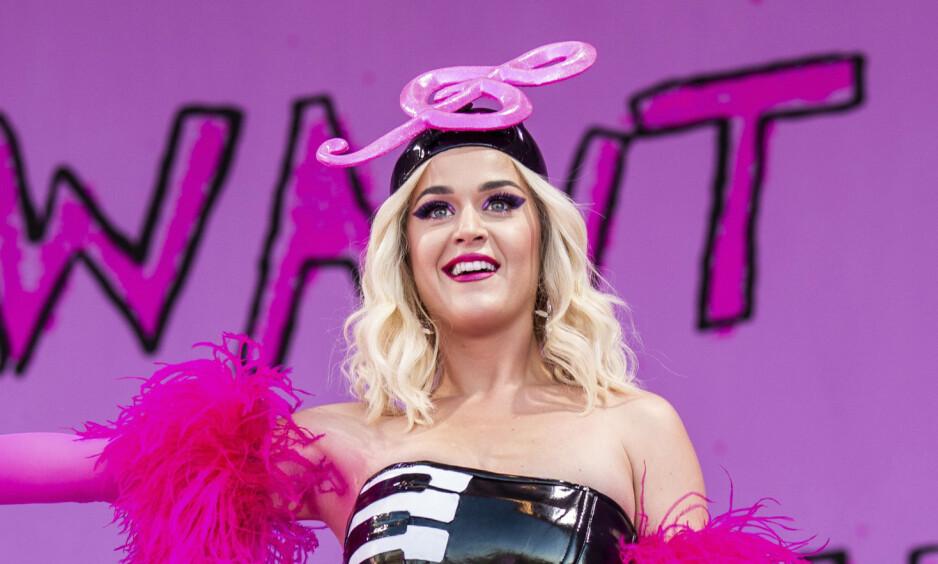 STØTTER ELLEN: Katy Perry står opp for Ellen DeGeneres etter massive protester. Foto: NTB scanpix