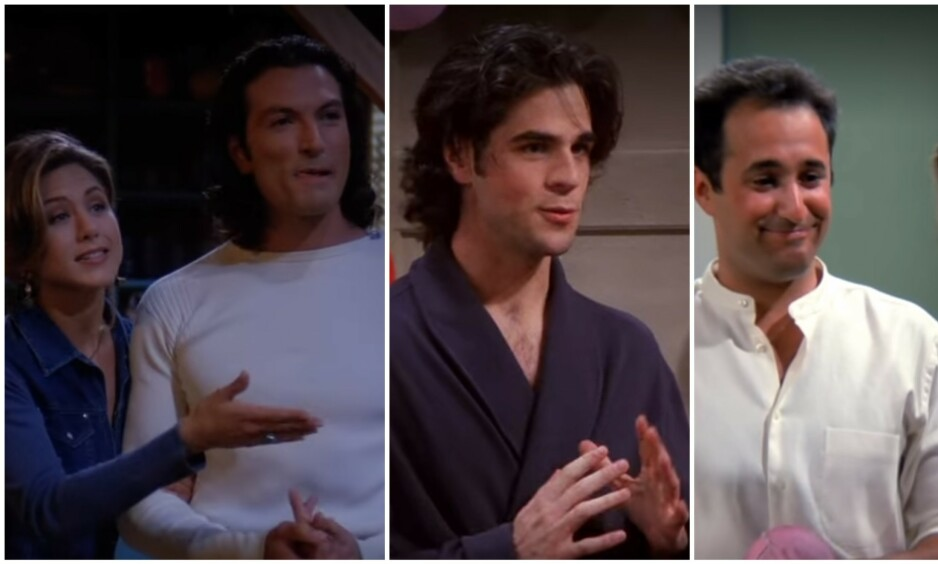 MINNEVERDIGE KARAKTERER: Flere skuespillere fikk en kickstart på karrieren etter å ha gjestet «Friends». Slik går det med noen av dem i dag. Foto: Warner Bros.