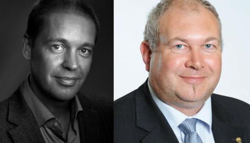Herner Sæverot og Glenn-Egil Torgersen.