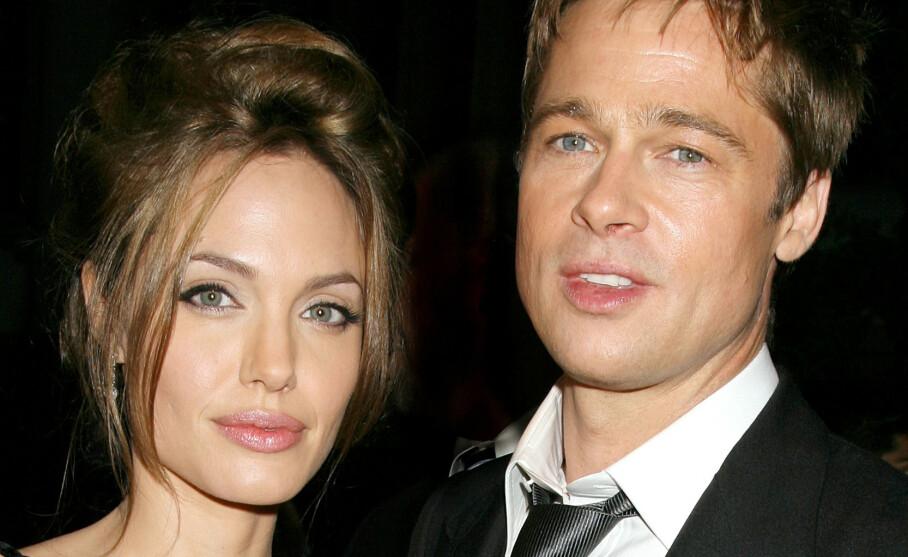KREVER NY DOMMER: Det er gått fire år siden Angelina Jolie og Brad Pitt annonserte at de skulle skilles. Den dag i dag er fremdeles ikke saken over mellom dem. Foto: NTB scanpix