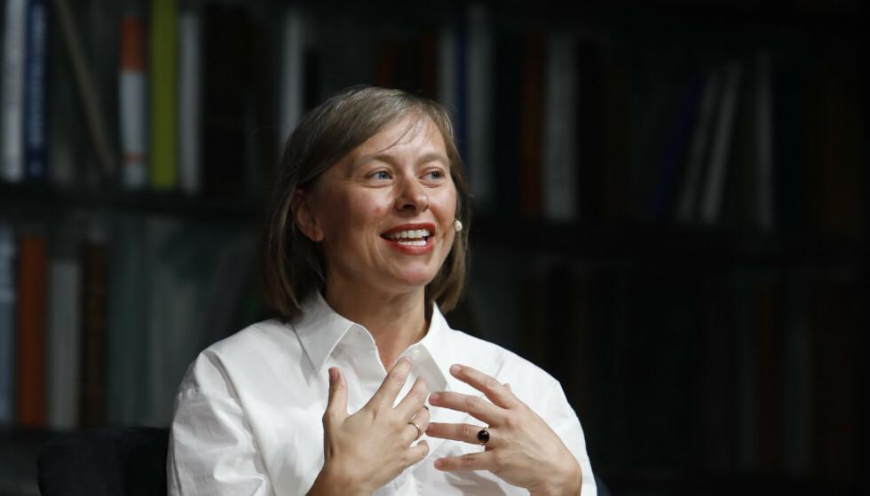 JANNE STIGEN DRANGSHOLT: Forfatter og litteraturforsker med fersk litterær kanon. Foto: NTB Scanpix