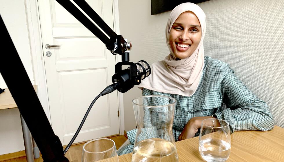 """MYE VERDT: Norsk-somaliske Rawdah skiller seg ut i motebransjen. - Jeg har en målgruppe og en nisje som de ikke har tilgang til. De trenger en som ser ut som meg, sier Rawdah i et intervju med podkasten """"Rett På"""". Foto: Nicolai Delebekk / Dagbladet"""