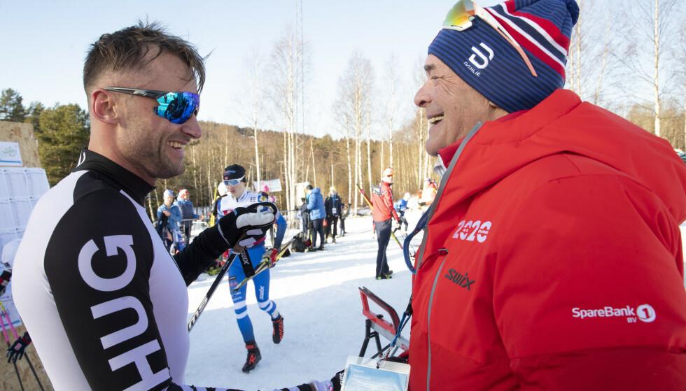 STØTTER PETTER: Steinar Mundal kjenner Petter Northug godt etter et langt liv i langrennsmiljøet. Han er tydelig på at han støtter Northug. Bilde: NTB Scanpix