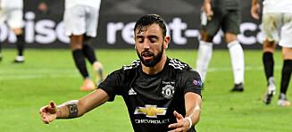 Manchester United er slått ut av Europa League etter sjansebonanza