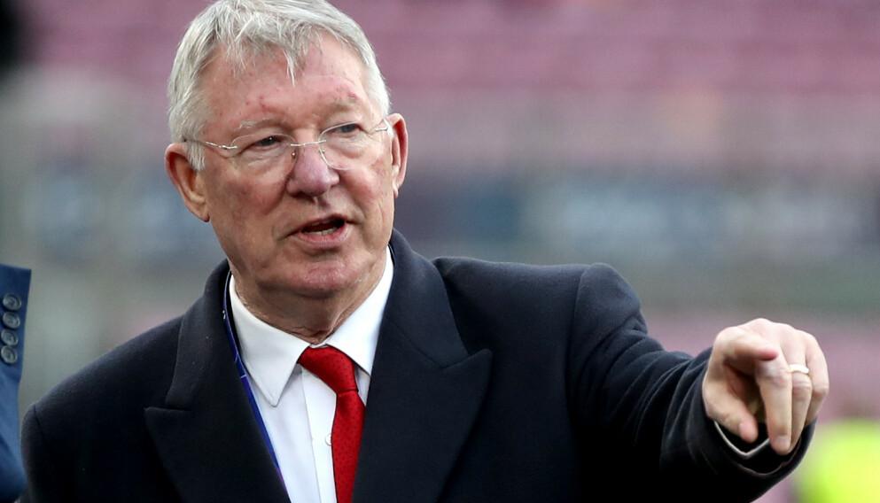 LEGENDE: Sir Alex Ferguson var manager i Manchester United fra 1986 til 2013. Foto: NTB