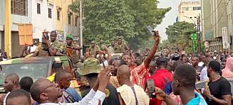 Presidenten og statsministeren i Mali arrestert