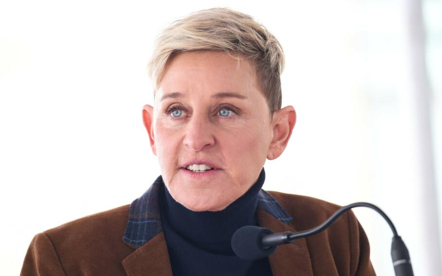 BLUSSET OPP: Ellen DeGeneres' Twitter-innlegg fra 2009 har skapt oppmerksomhet den siste tida. Foto: NTB Scanpix