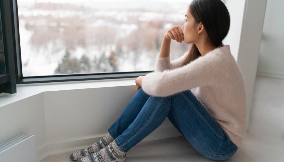 DEPRESJON: Depresjon er blant de hyppigste psykiske lidelsene i Norge. Foto: Shutterstock / Scanpix