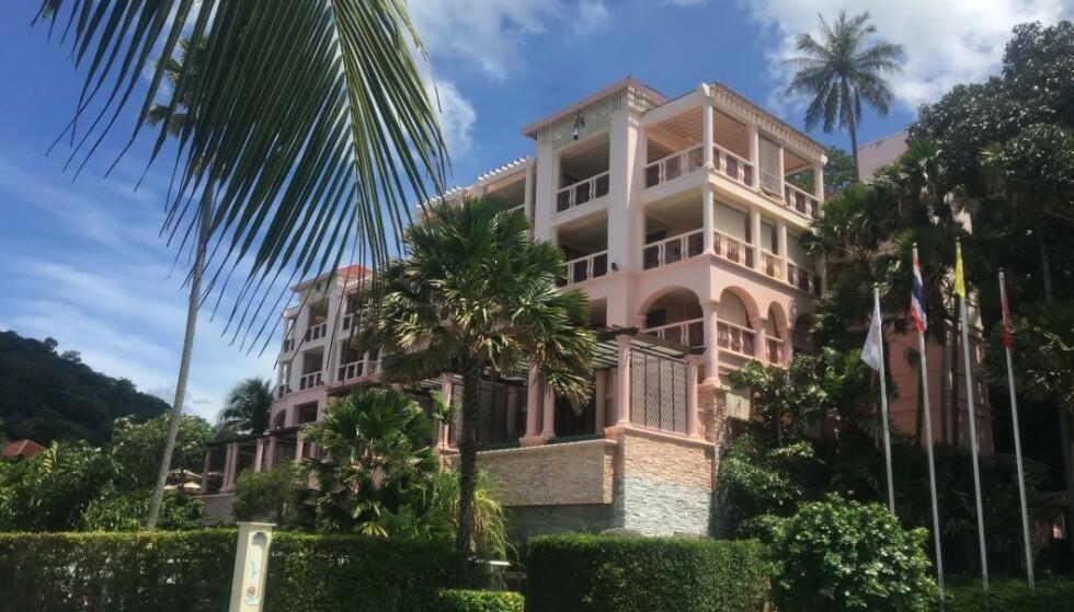 <strong>LUKSUSHOTELL:</strong> Det var dette luksushotellet i Phuket at drapet fant sted. Foto: Angelica Hagen / Dagbladet