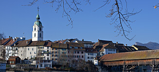Luksuskakao regnet over sveitsisk by